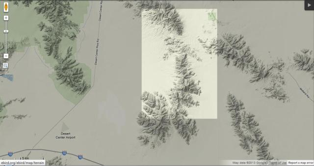 Riverside County eBird Gap